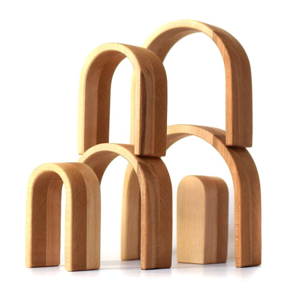 Bumbu | Wooden Stacking Arches | Natural