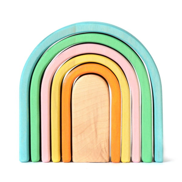 Bumbu | Wooden Stacking Arches | Pastel