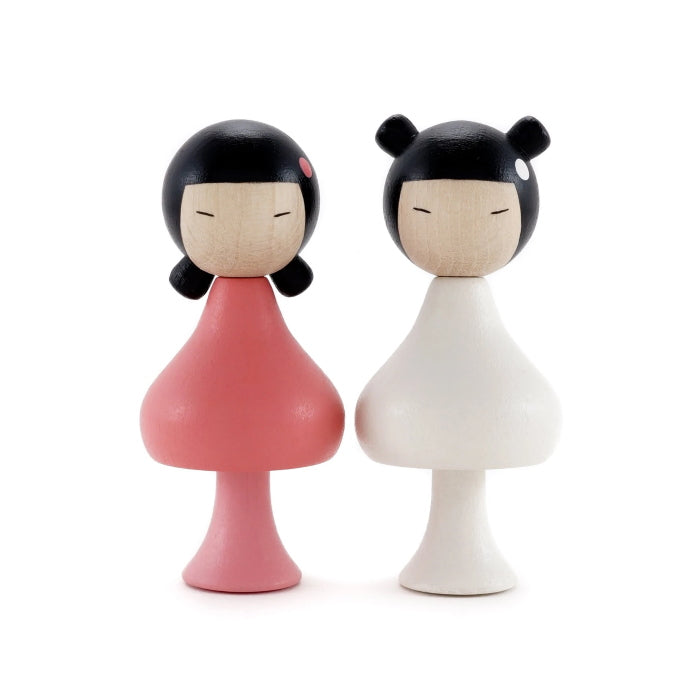 CLiCQUES | Magnetic Wooden Toys | Sara & Ichika
