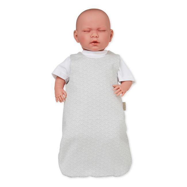 Cam Cam | Doll's Sleeping Bag | Grey Wave