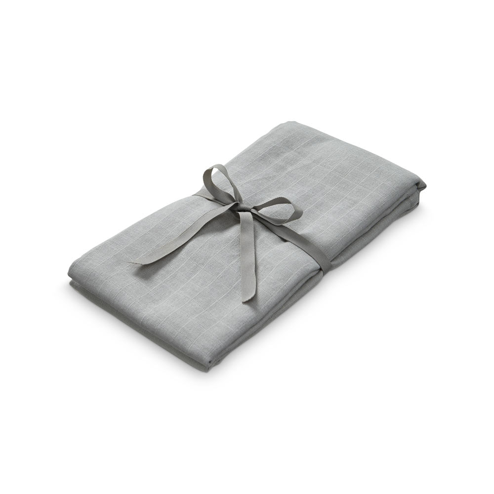 Cam Cam Copenhagen Grey Baby Swaddle in Organic Cotton