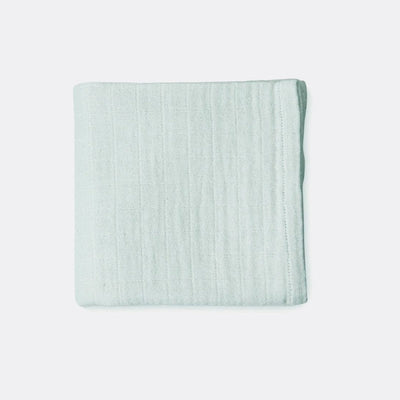 Cam Cam Copenhagen Mint Green Baby Swaddle in Organic Cotton
