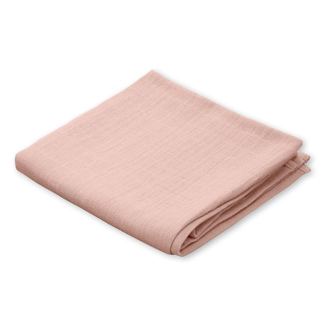 Blush Pink Organic Baby Muslin from Cam Cam