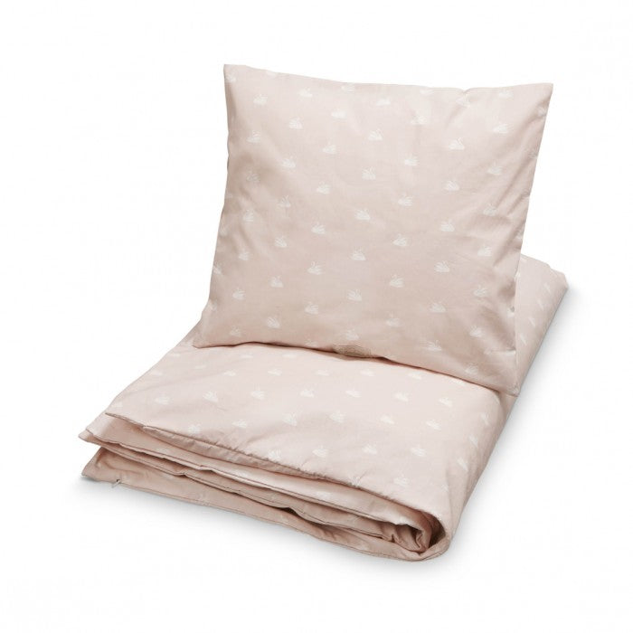 Cam Cam Copenhagen Single Quilt Set in Pink Swan (Adult)