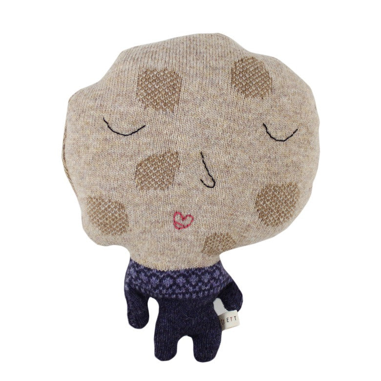 Colette Bream | Handknit Wool Soft Toy | Miss Cookie