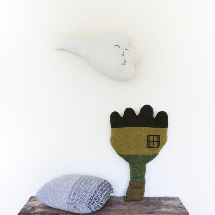 Colette Bream | Handknit Wool Soft Toy | Windy Wind