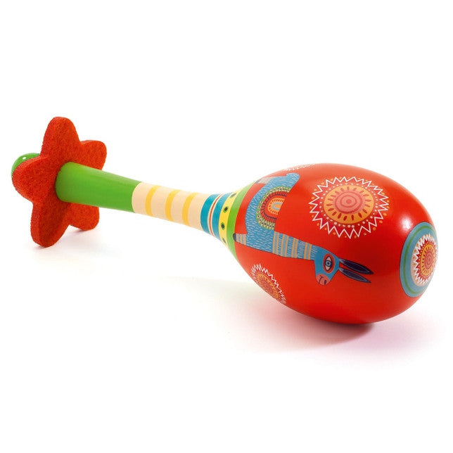Djeco | Animambo Musical Instrument | Maracas | Milk Tooth