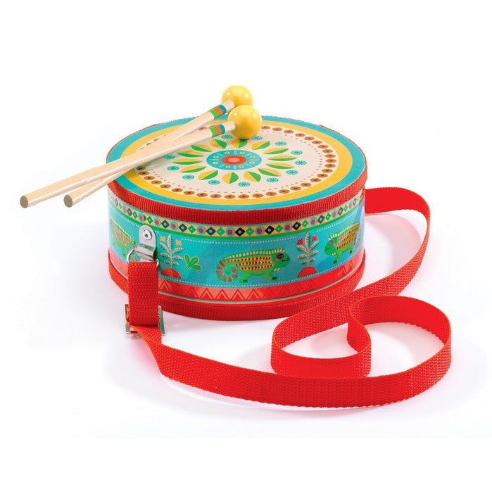 Djeco | Animambo Musical Instrument | Marching Drum