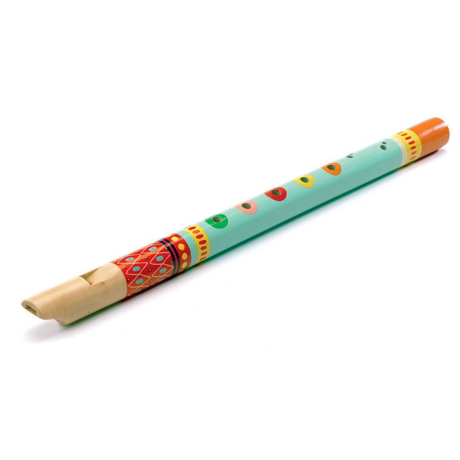 Djeco | Animambo Kid's Wooden Recorder | Child's Musical Instrument Toy | Milk Tooth