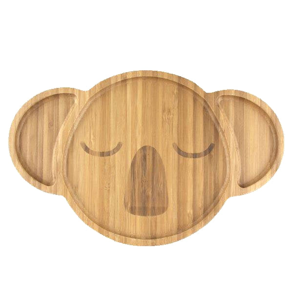 Emondo Kids Karri Koala Bamboo Plate for Kids
