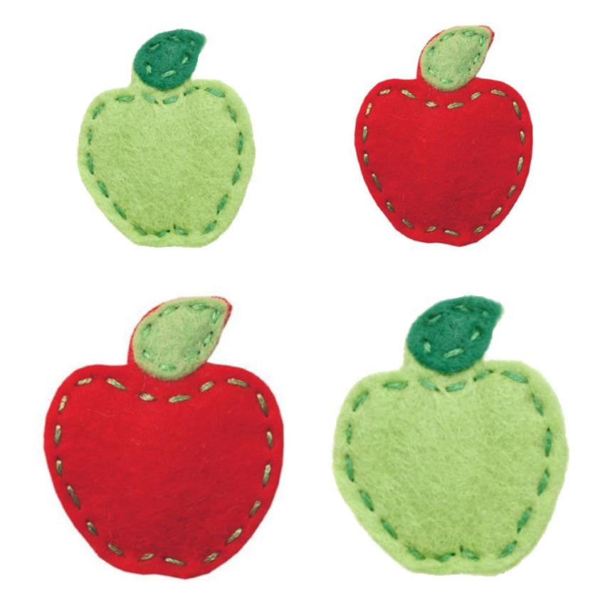 Giddy Giddy hair clip - green or red apple