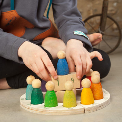 Grapat | Wooden Toy | Perpetual Calendar with Nins