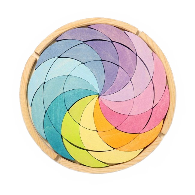 Grimm's | Building Set | Colour Wheel | Pastel