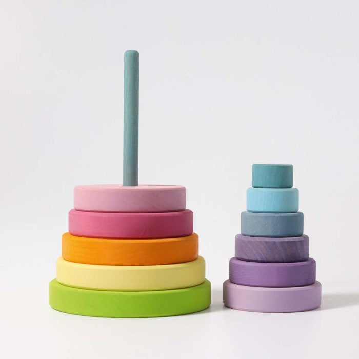 Grimm's | Large Conical Stacking Tower | Pastel