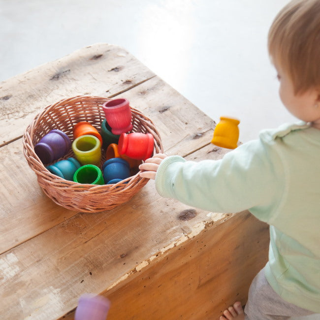 Grapat | 12 Mates | Wooden Toys Cups