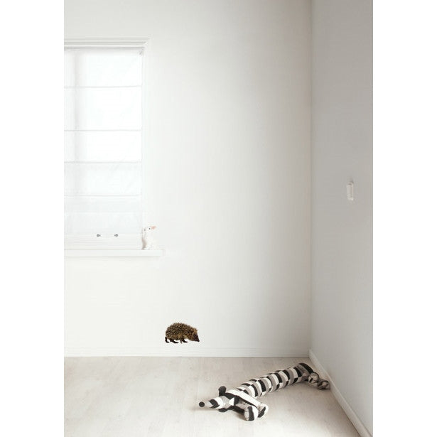 Hedgehog wall sticker - KEK Amsterdam Forest Friends wall decal