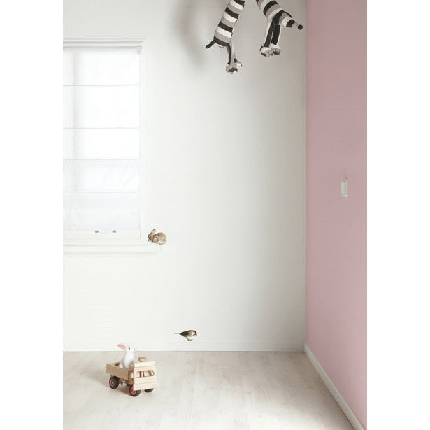Baby rabbit & sparrow wall sticker set - KEK Amsterdam Forest Friends