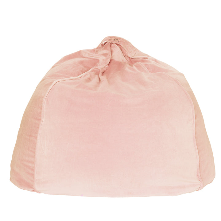 Kip and Co | Velvet Beanbag | Peach Skin