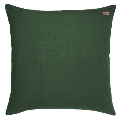 Kip and Co | Linen Euro Cushion Cover | Moss Green