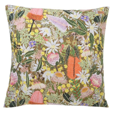 Kip and Co | Euro Cushion | Native Plantation