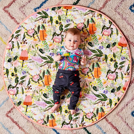 Kip and Co | Quilted Baby Play Mat | Native Plantation