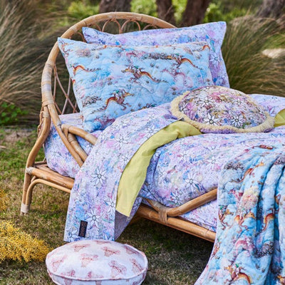 Kip and Co | May Gibbs | Fitted Sheet | King Single | Flora & Fauna
