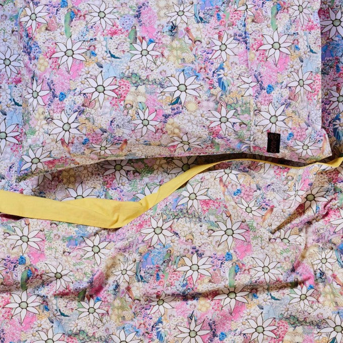 Kip and Co | May Gibbs | Quilt Cover | King Single / Double | Flora & Fauna