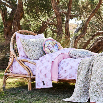 Kip and Co | May Gibbs | Quilt Cover | Pretty Lady Pink