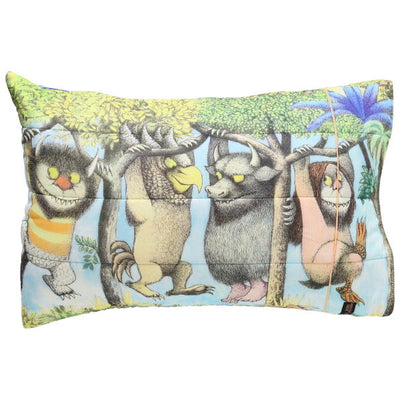 Kip and Co | Wild Things | Hanging Wild Quilted Pillow Case