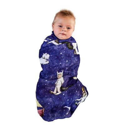 Kip and Co | Wild Things | Max Night Sky Baby Swaddle