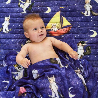 Kip and Co | Wild Things | Max Night Sky Baby Swaddle and Play Mat