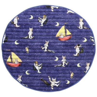Kip and Co | Wild Things | Max Night Sky Playmat | Quilted Play Mat