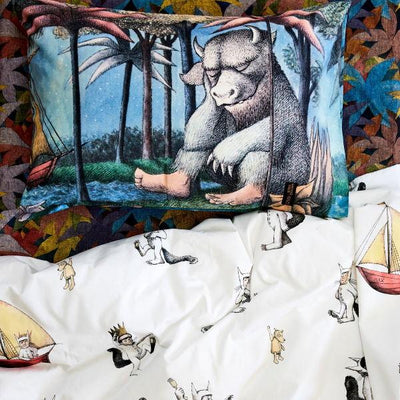 Kip and Co | Wild Things | Max Quilt Cover with Sir Monster-A-Lot Pillow Case