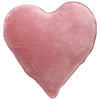 Kip and Co | Velvet Heart Cushion | Dusty Pink