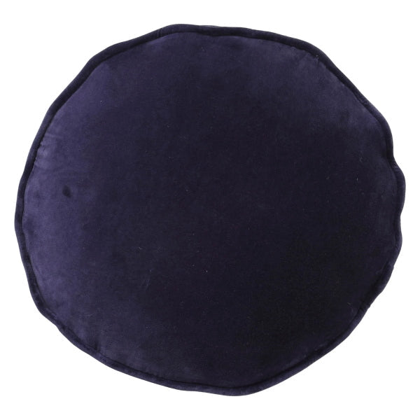 Kip and Co | Velvet Filled Pea Cushion | Navy