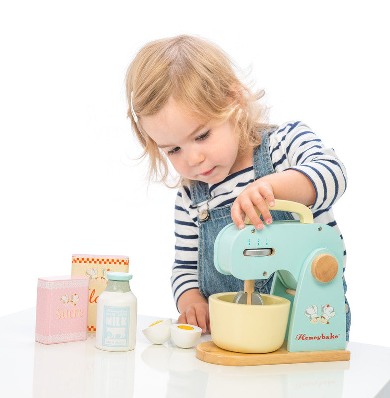 Le Toy Van | Honeybake Mixer Set | Wooden Pretend Play Toy