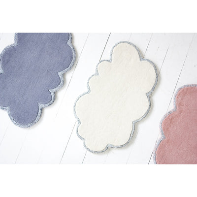 Mini Silver Lining Woold CLoud Rugs by Little P for Little People