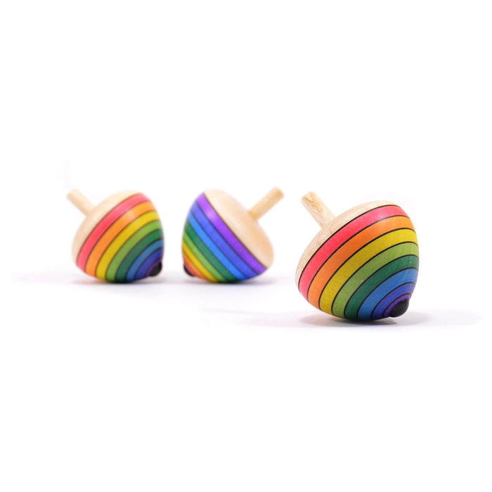 Mader | Rainbow Egg Spinning Top
