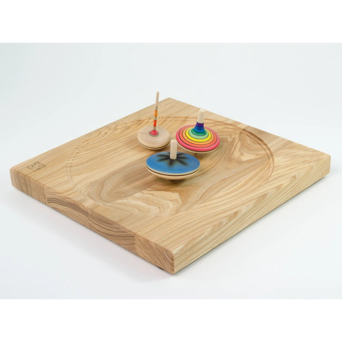 Mader | Wooden Plate for Spinning Tops | 25cm Ash