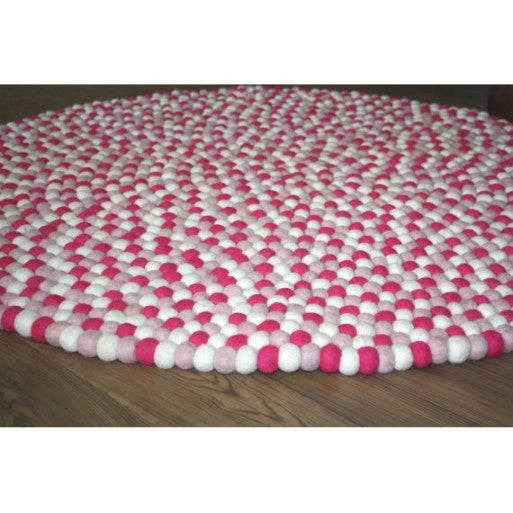 Milk Tooth Wool Felt Ball Rug | Fairy Floss | 140cm or 200cm