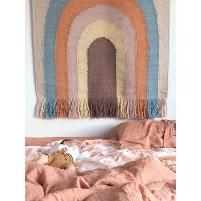OYOY | Follow The Rainbow | Wall Rug Wall Hanging Tapestry