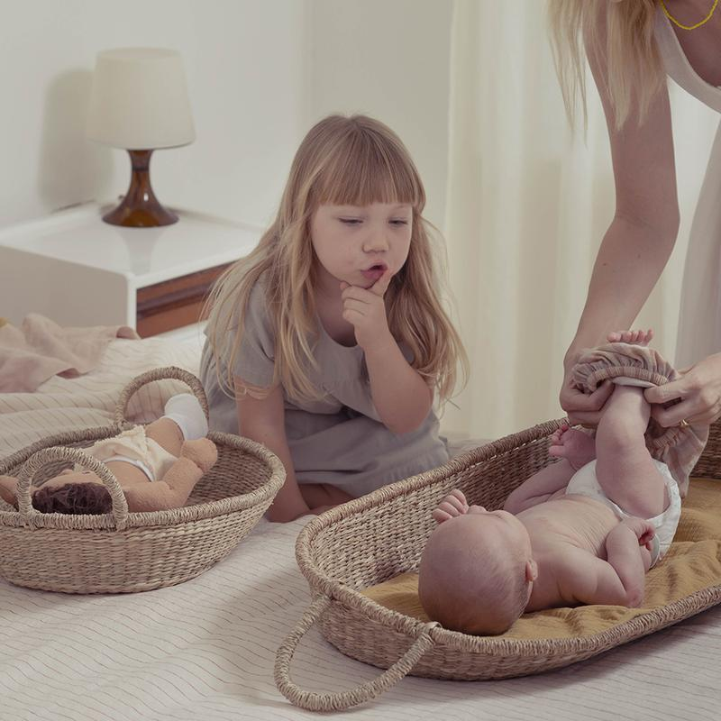 Olli Ella | Doll Changing Basket | Nyla