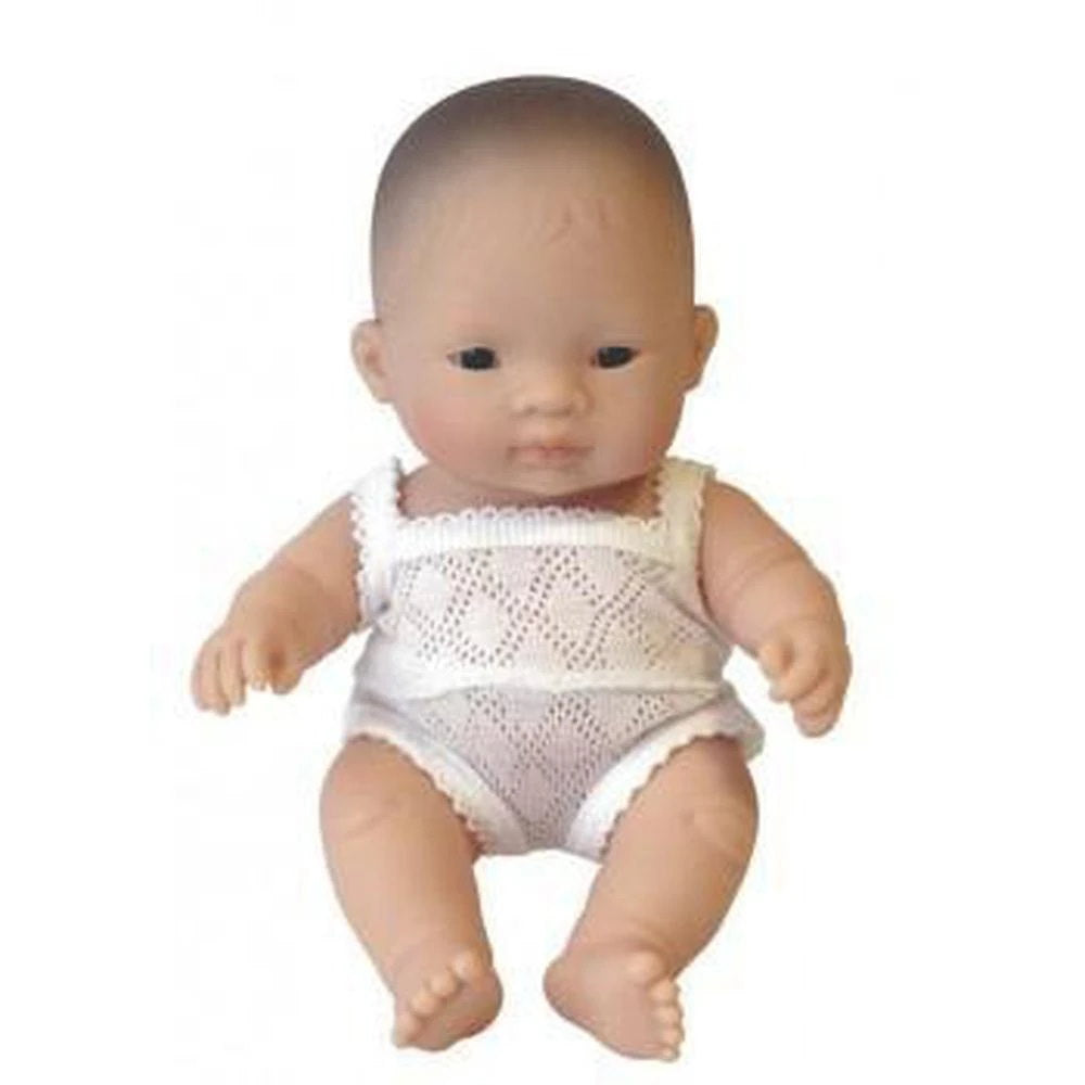 Miniland | Baby Doll 21cm | Asian Girl