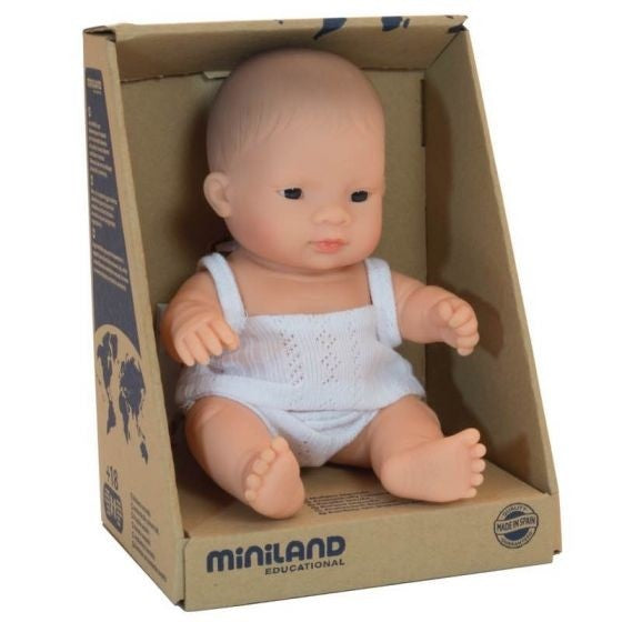 Miniland | Baby Doll 21cm | Asian Boy