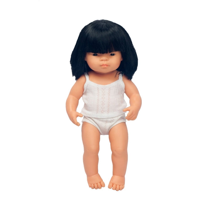 Miniland | Baby Doll 38cm | Asian Girl