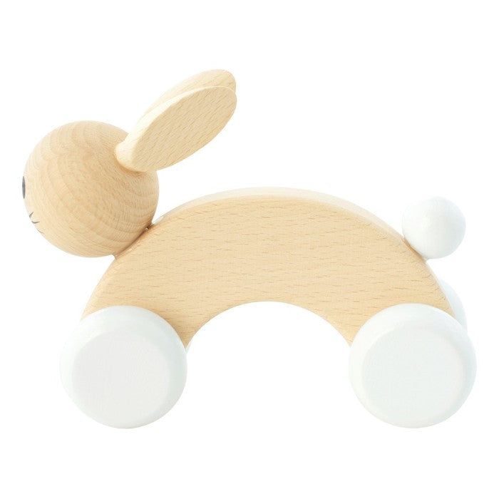 Miva Vacov | Wooden Push Along Bunny Rabbit | Cotton Tail