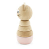 Miva Vacov | Wooden Cat Stacking Puzzle Toy