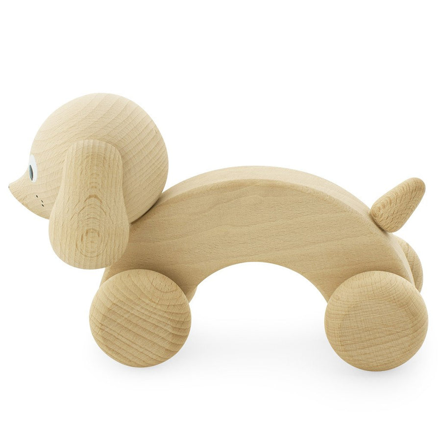 Miva Vacov | Wooden Push Along Dog | Harley