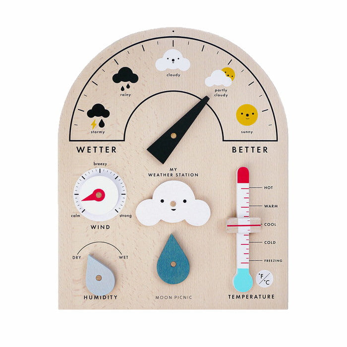 Moon Picnic | My Weather Station | Wooden Toy