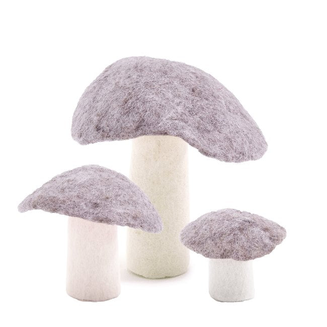 Muskhane | Wool Mushroom | Light Stone Small Large XL